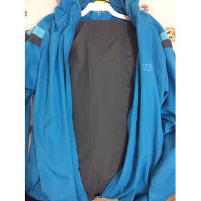Pants Deportivo Azul Con Gris