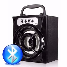 Caixa Caixinha Som Portátil Bluetooth Mp3 Pendrive Sd Fm