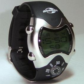 Relógio Mormaii Digital Pulseira Borracha Bussola Esportivo