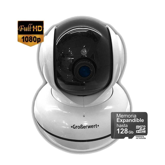 Camara De Seguridad Ip Motorizada 1080p Wifi Led Array 360