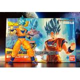 Figure Rise Goku Ssj Blue, Dragon Ball Super, Msi