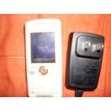Celular Sony Ericsson W200 Travado Para Peças Com Cragador