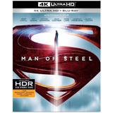Blu-ray 4k Homem De Aço -4k Ultra Hd, Blu-ray, Cópia Digital