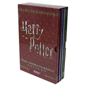 Box Harry Potter Guia Cinematográfico 4 Livros Novo Lacrado