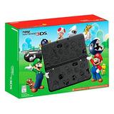 Nintendo 3ds Super Mario Versión Negro