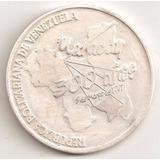 Moneda Conmemorativa De Fundacion De Maracay, En Plata Pura,