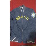 Casaco Do Brasil Nike Azul no Mercado Livre Brasil 6568b8b82e66d