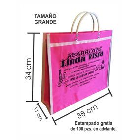 Bolsas De Canasta, Grande 38x34x11 Mandado,publicidad