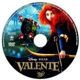 5 Dvds - Valente Up Croods Tres Porquinhos Bebe Lino