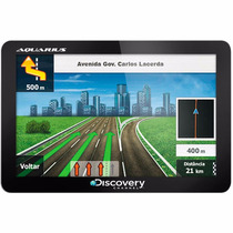 Navegador Gps Discovery Channel 4.3 Slim
