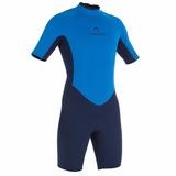 Traje Surf Wetsuit Corto Azul Tribord Delivery!