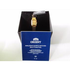 Reloj Orient Dama Cuarzo Gold Tone Fublz003g0 |watchito|
