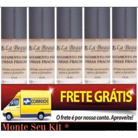 Base La Beauté Tratamento Para Unhas Fracas (5 Unid) +brinde