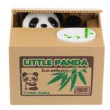 Alcancía Oso Panda Roba Monedas Automático, Saving Box Nuevo