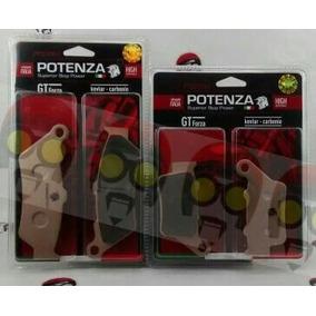 Kit Pastilha Freio Diant + Tras Xt660 Potenza Ptz 209 + 213