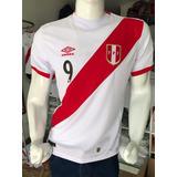 Camiseta De Perú Umbro, Réplica A1, Visa - Leliru Sac