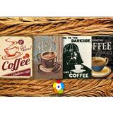 Placas Decorativas-café - Decoração De Cozinha