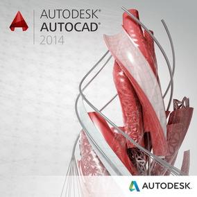 Autodesk Autocad 2014 Original + Vídeo Tutorial Instalación