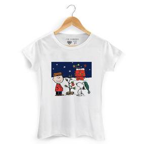 Baby Look Feminina Snoopy - Camisetas e Blusas Manga Curta no ... 23a0b494847