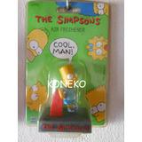 Muñeco Aromatizador Freshener Bart Simpson Estuche Cerrado