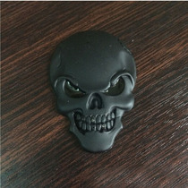 Adesivo Caveira 3d, Skull, Emblema, Moto, Carro, Tuninng 3d