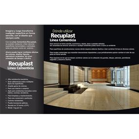 Recuplast Microcemento Sinteplast Kit Completo Para 25m2