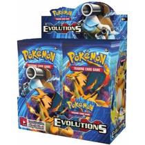 Caja 36 Sobres Xy Evolutions Pokemon Booster Box