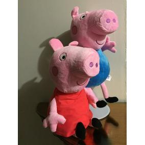 Pareja Pepa Pig Y George 40 Cms