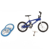 Mini Bicicleta Fingers Bike + Mini Patineta Skate Ditoys Tv