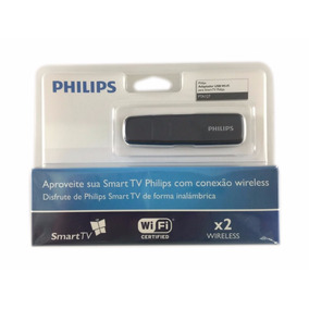 Adaptador Wireless Usb Tv Philips Pta127 2x Wi Fi Smart