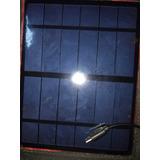 Panel Solar Modulo Celda Fotovoltaica 6v