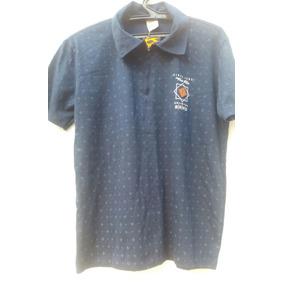 Camisa Polo Dunlop Importada Azul Marinho Navy Classica Luxo ... 8632485e85
