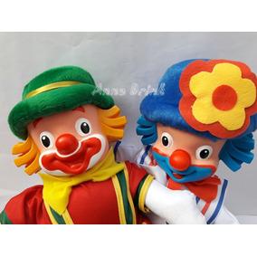 Bonecos Patati E Patata Palhaços Tv 40 Cm Pronta Entrega