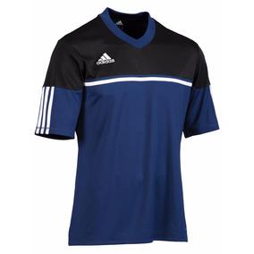 Queima Estoque! adidas Climalite Autheno Camiseta Azul c5ba224d3e8f4