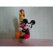 Lembrança Em Biscuit Michey Mouse Tubete Aniversario