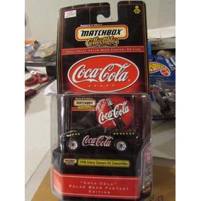 Hot Wheels Matchbox 1:64 Coca-cola 1998 Chevrolet Camaro Ss