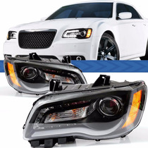 Farol Daylight Jeep Chrysler 300c 11 A 15 Másc Negra Led
