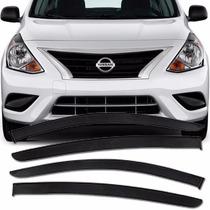 Calha Defletor De Chuva Nissan Versa 2011 12 13 14 15 16 4p