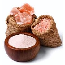Sal Gourmet Himalaya Rosada Libre De Fluor Organica Mayoreo
