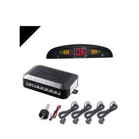 Sensor De Reversa Universal 4 Puntos Display Alarma 0.3-2.5m