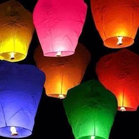 10 Globos De Cantoya Boda Fiestas Linterna China Oferta