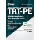 Apostila Concurso Trt-pe- An. Judic. - Área Administrativa