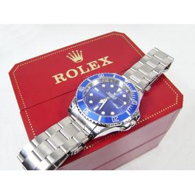R O L E X . Reloj Mod. Submariner Con Calendario Acero Ppa3