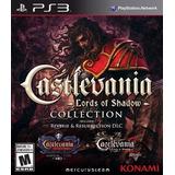 Castlevania Collection Ps3 Original Físico En Disco Bravil
