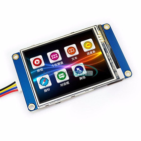 Tela Lcd Nextion 2.4 Tft Hmi 320x240 Touch Screen Arduino