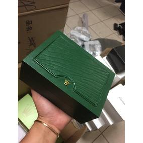 Cajas Rolex De Madera Para Reloj Shoppingbag Y Certificado