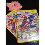 Mario & Sonic London 2012 Juegos Olímpicos Para Wii