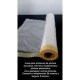 Pinturas - Lona Plástica Protecao - 2x20m - C/fita Crepe