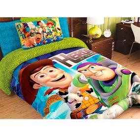 Cobertor Matrimonial Providencia Toy Story Borrega