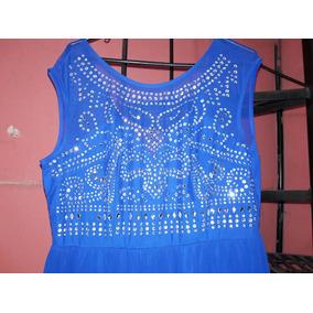 9169806a381 Vestido Azul Rey Con Pedreria - Vestidos de Mujer en Chiapas en ...